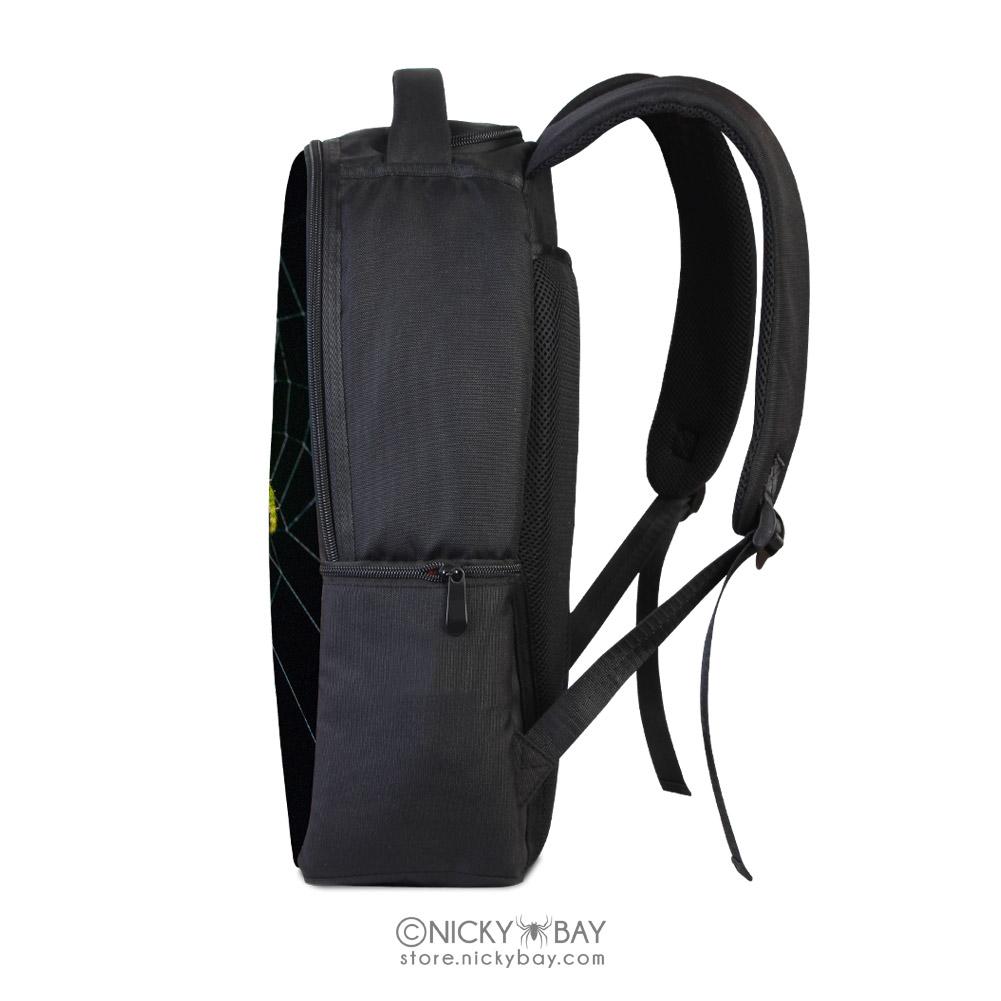 Backpack clipart side view. Laptop bag assorted invertebrates