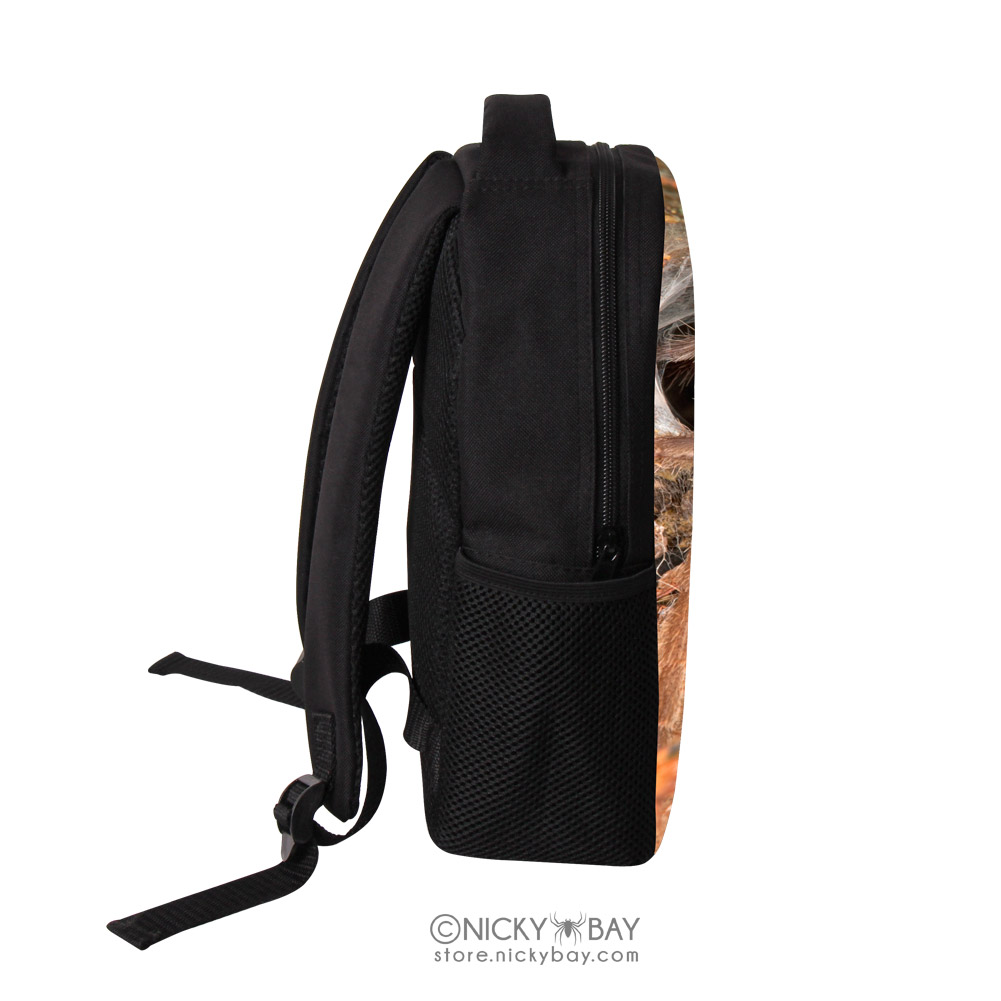Backpack clipart side view. Children school bag kids