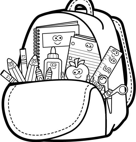Free download clip art. Backpack clipart side view