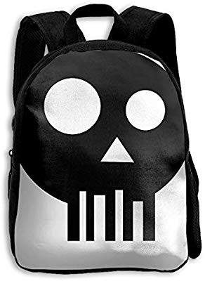 Backpack clipart simple. Amazon com skull school