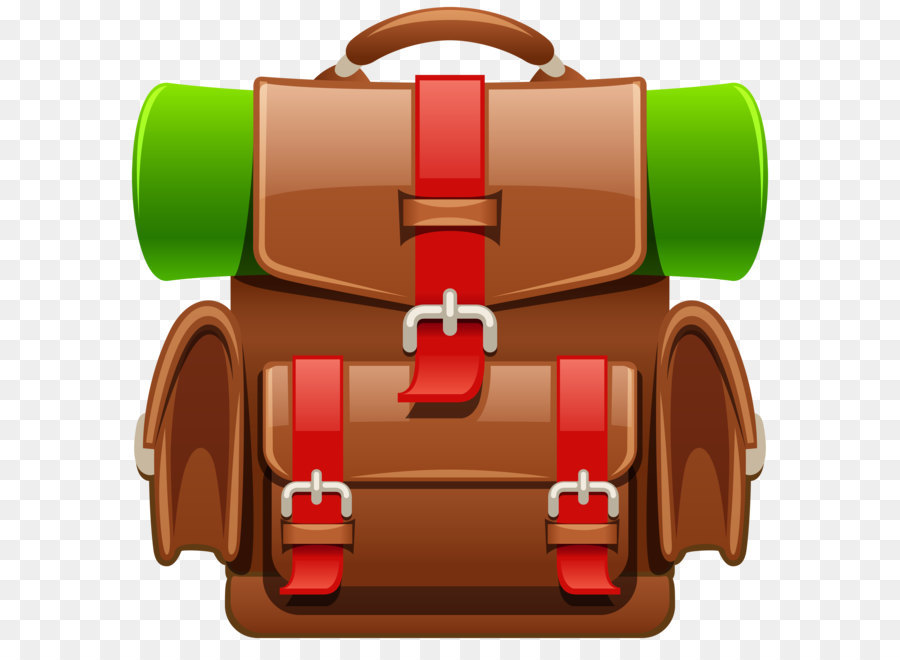 Backpacking travel clip art. Backpack clipart simple