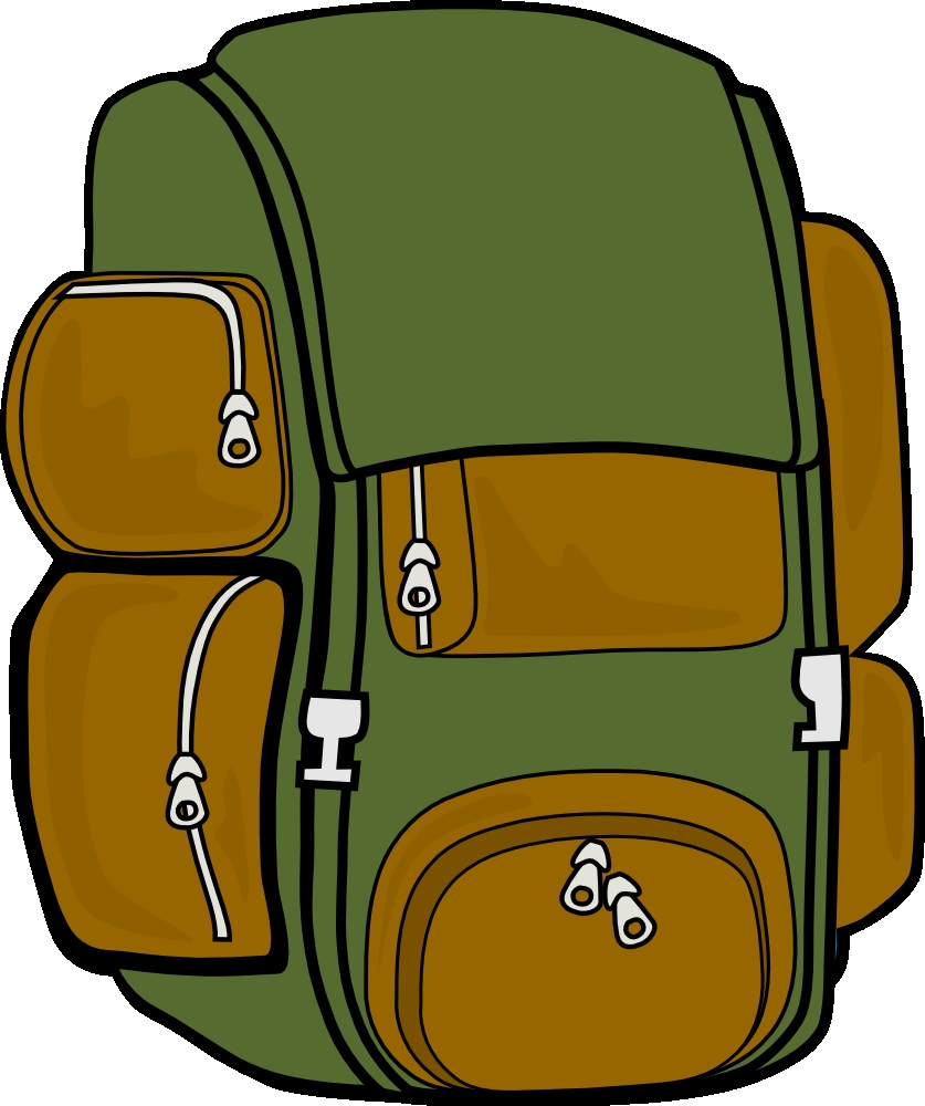 Backpack clipart simple. Fresh gallery digital collection