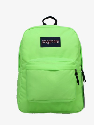 Backpack clipart simple. Fresh green png image