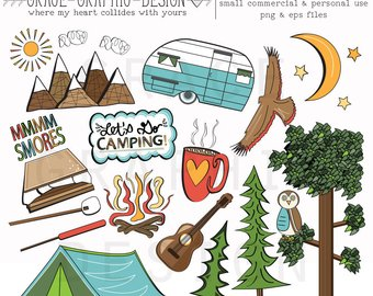 camping tent mountain. Backpack clipart sleeping bag