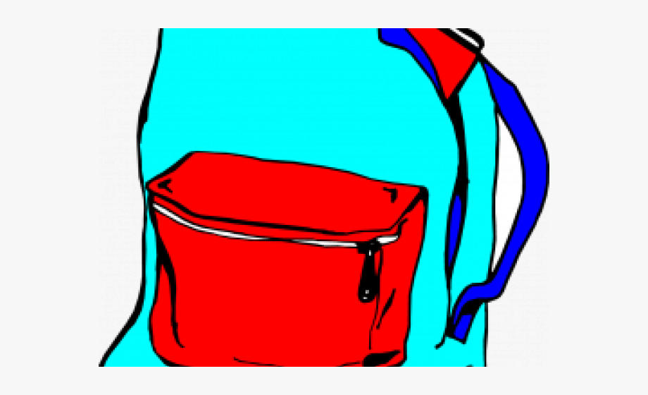 Bookbag clipart transparent background. Backpack clear