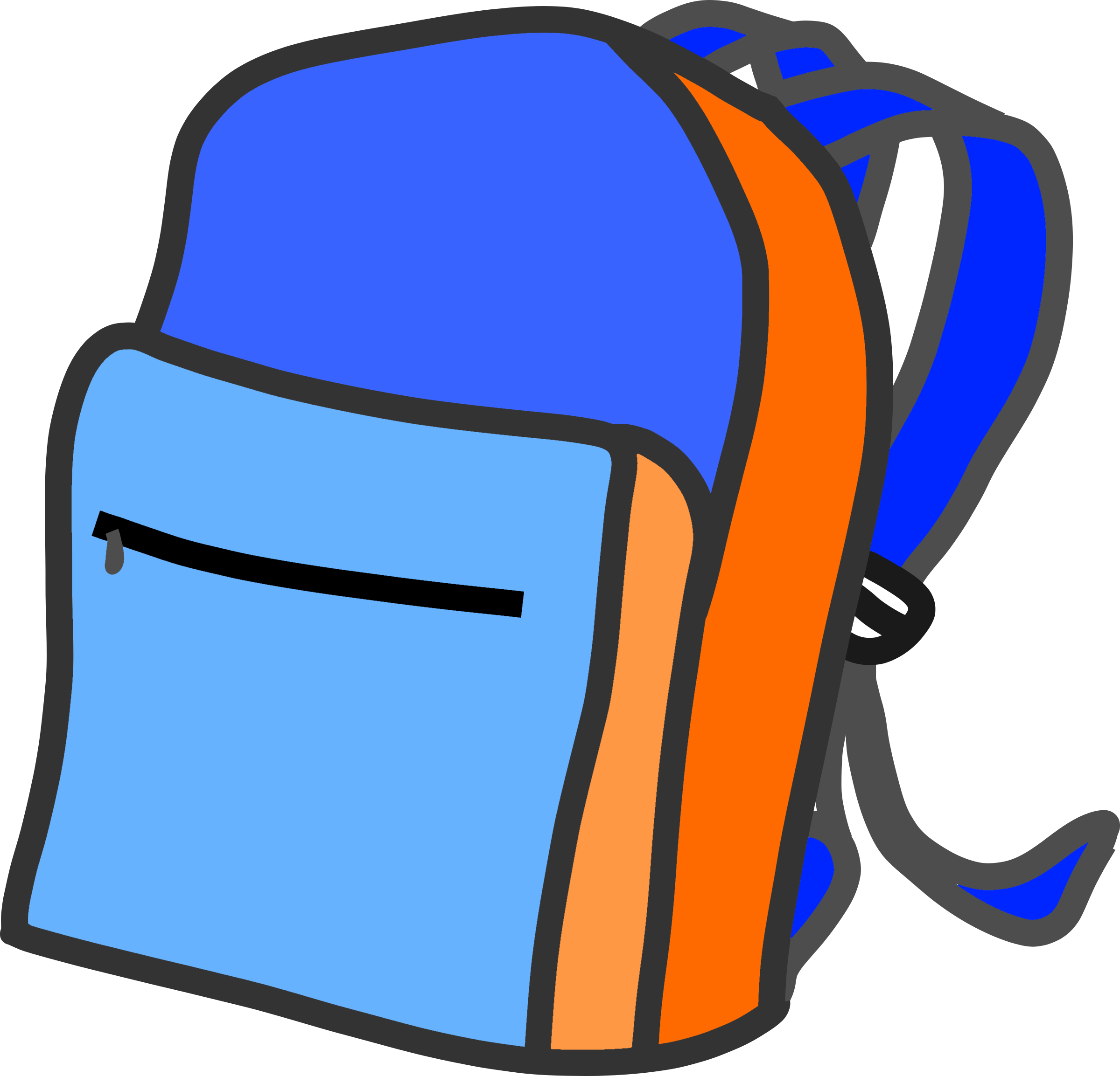 Backpack png transparent images. Bag clipart haversack
