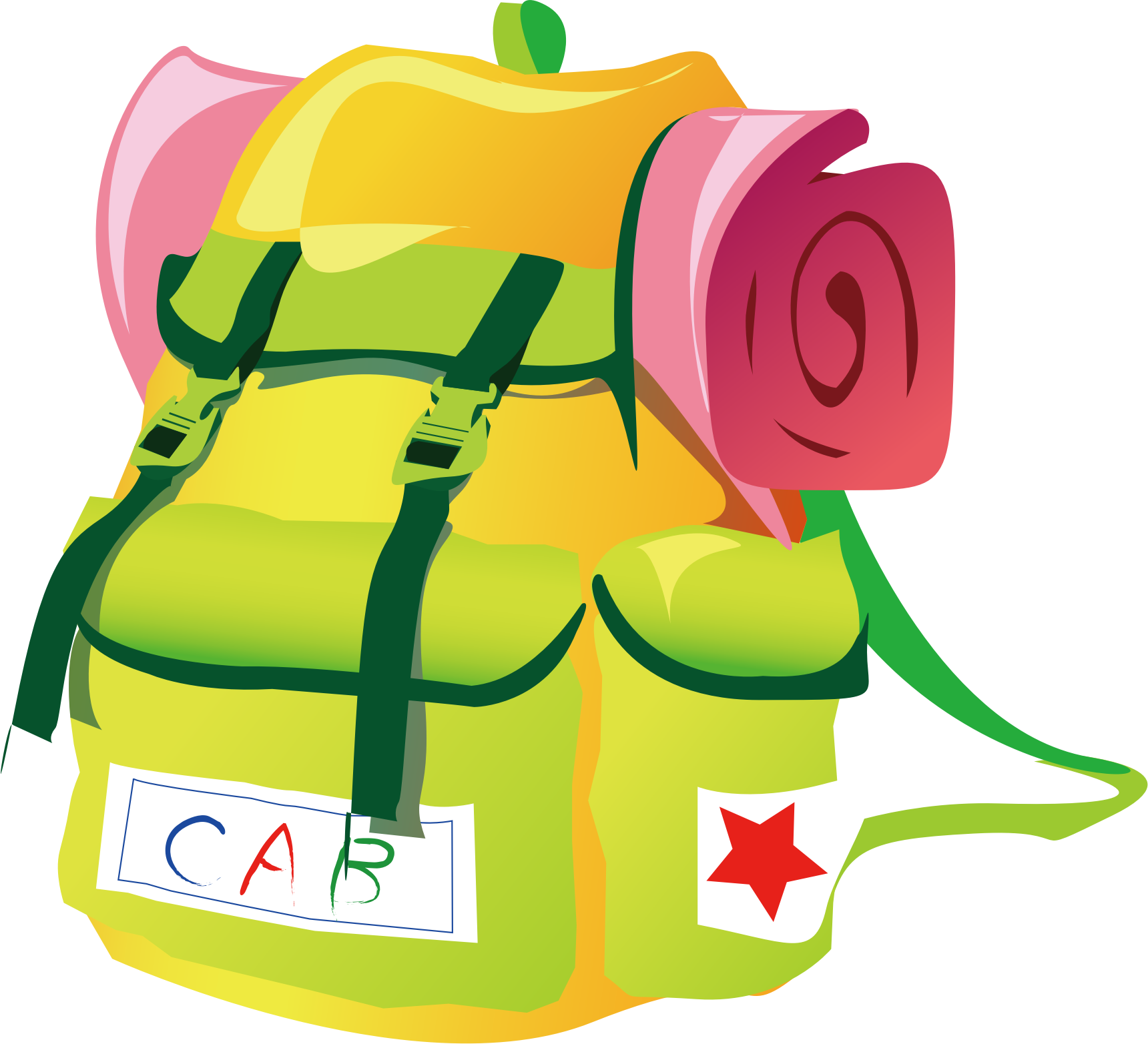 Travel icons png free. Clipart backpack small backpack