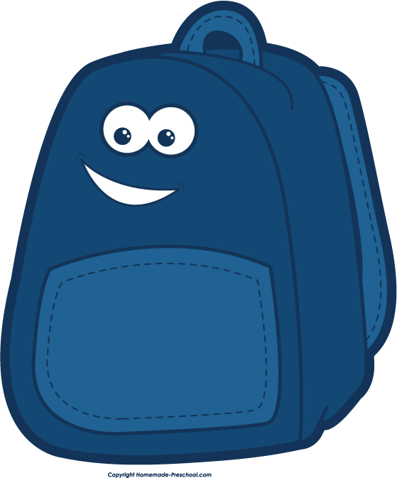 Backpack clipart vector. Clip art free clipartcow