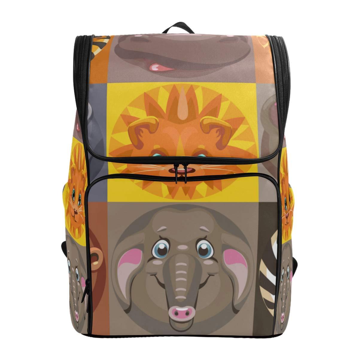 Amazon com cancaka cartoon. Backpack clipart vector