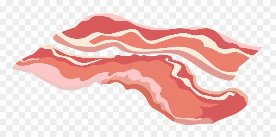Bacon clipart. Strip clip art png
