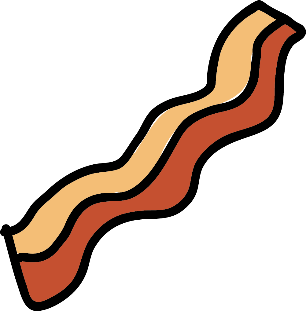 Bacon clipart. Meat barbecue clip art