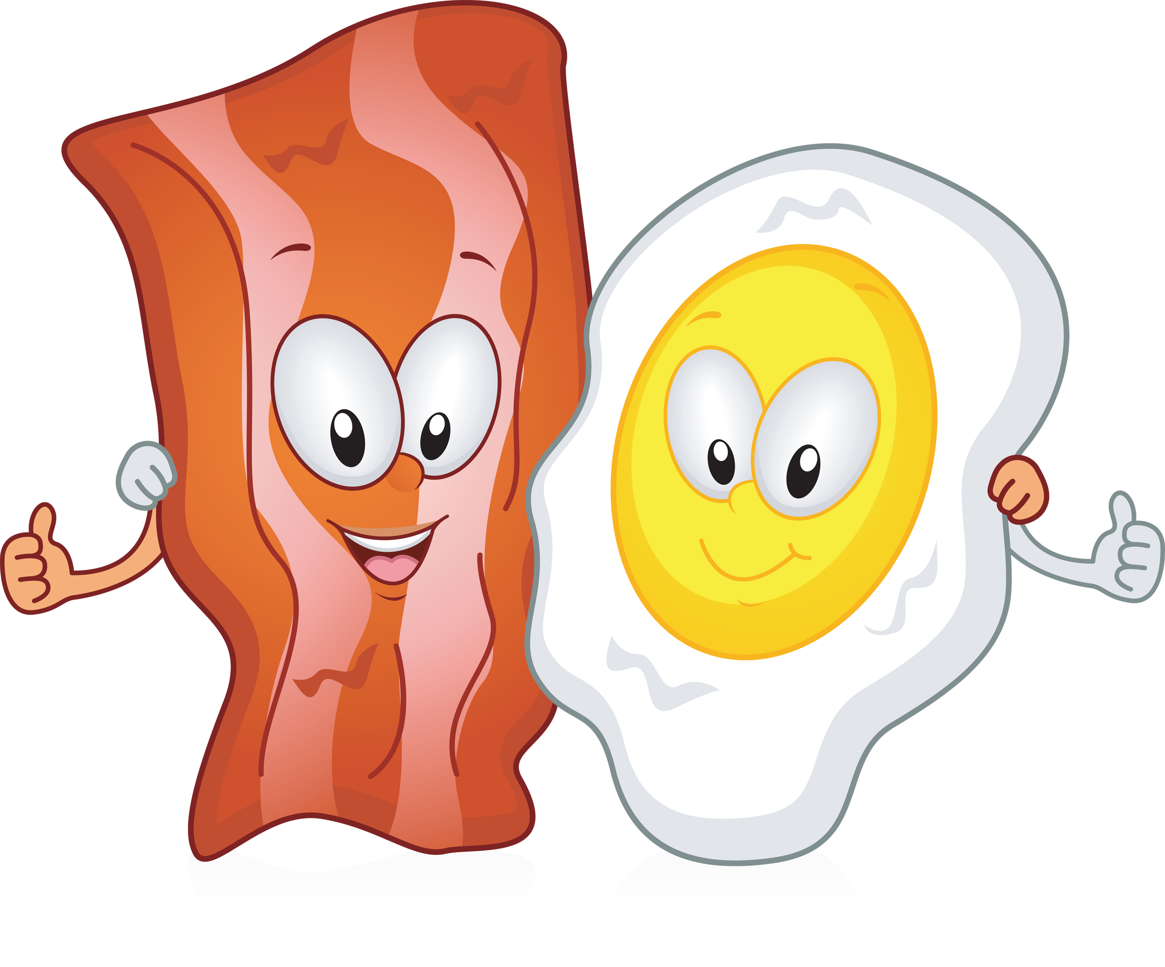 bacon clipart animated