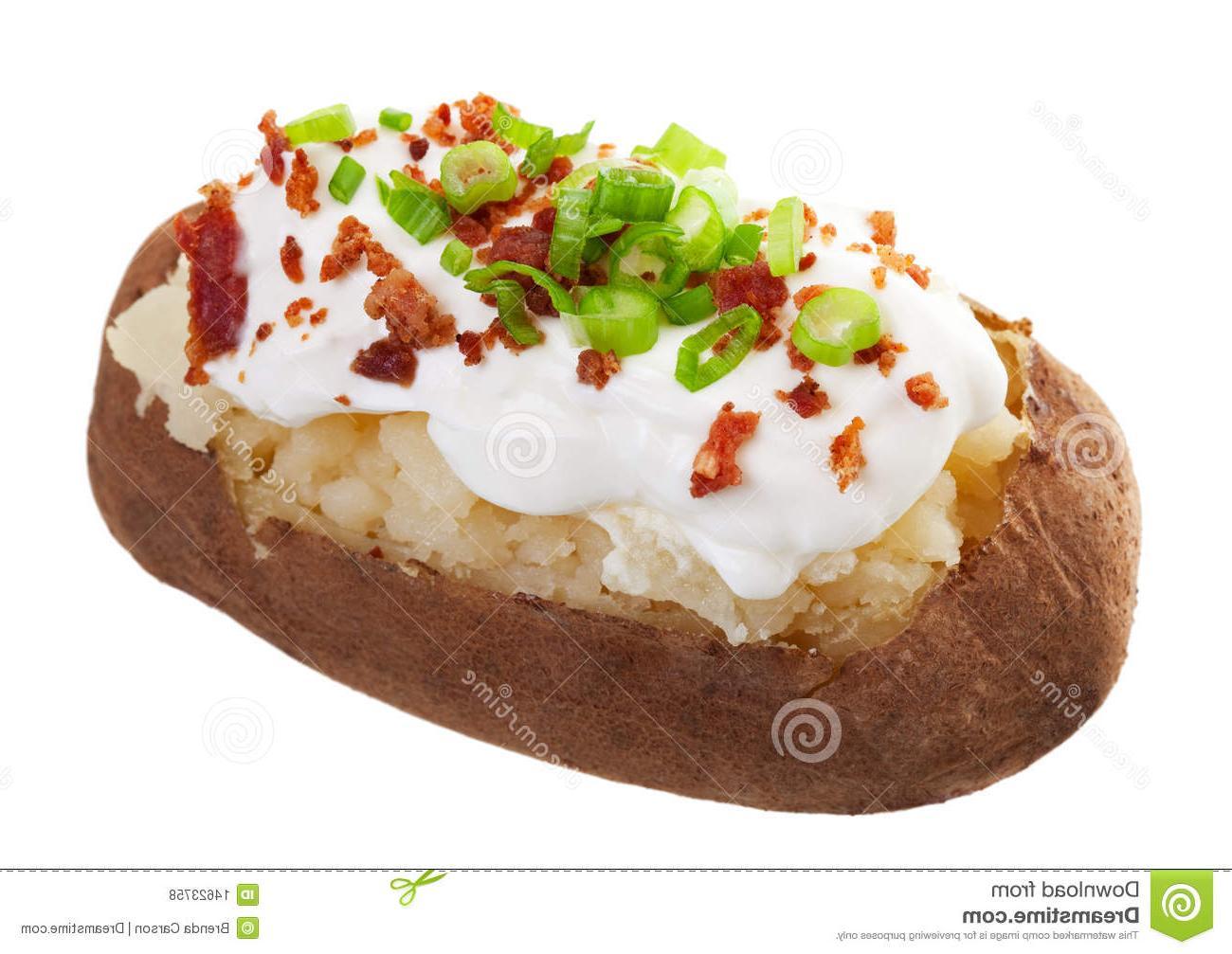 Best hd baked potato. Bacon clipart bacon bit