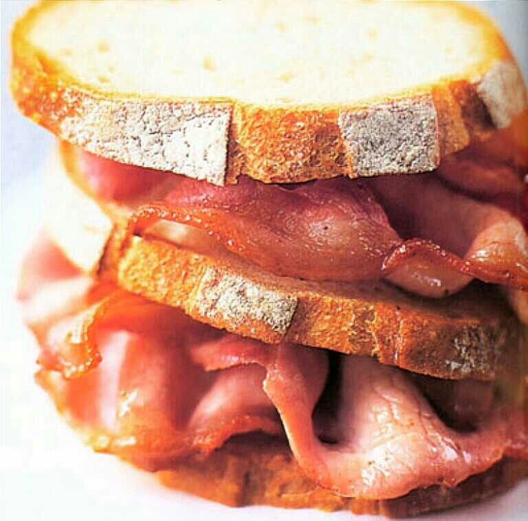 Bacon clipart bacon butty. Food pinterest heaven and