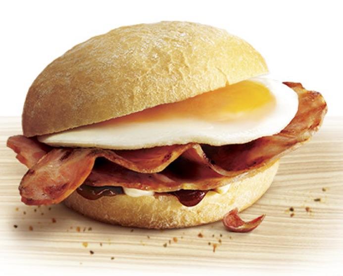 Gallery modern world cafe. Bacon clipart bacon butty