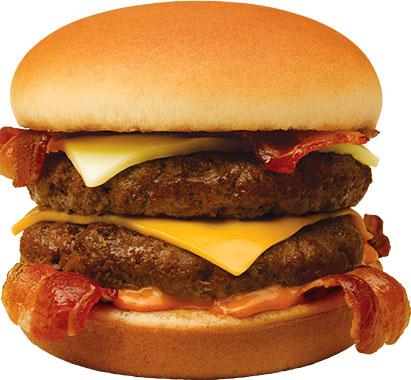 Cheeseburger clipart bacon cheeseburger. Good times burgers frozen