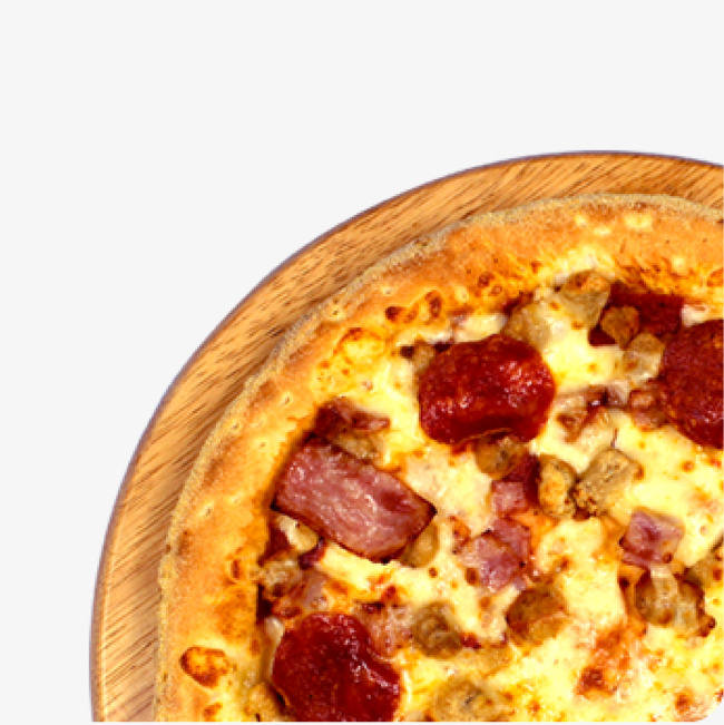 Bacon clipart bacon pizza. Chicken png image and
