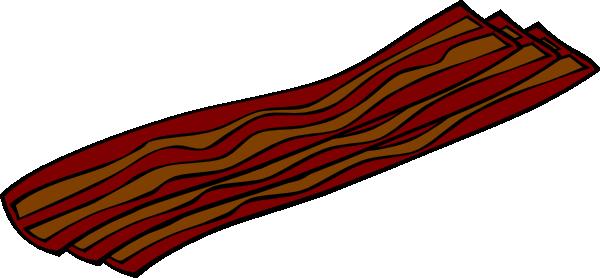 Bacon clipart bacon pizza. Clip art at clker
