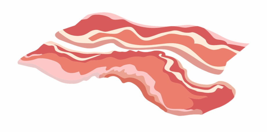 Clip art png transparent. Bacon clipart bacon strip