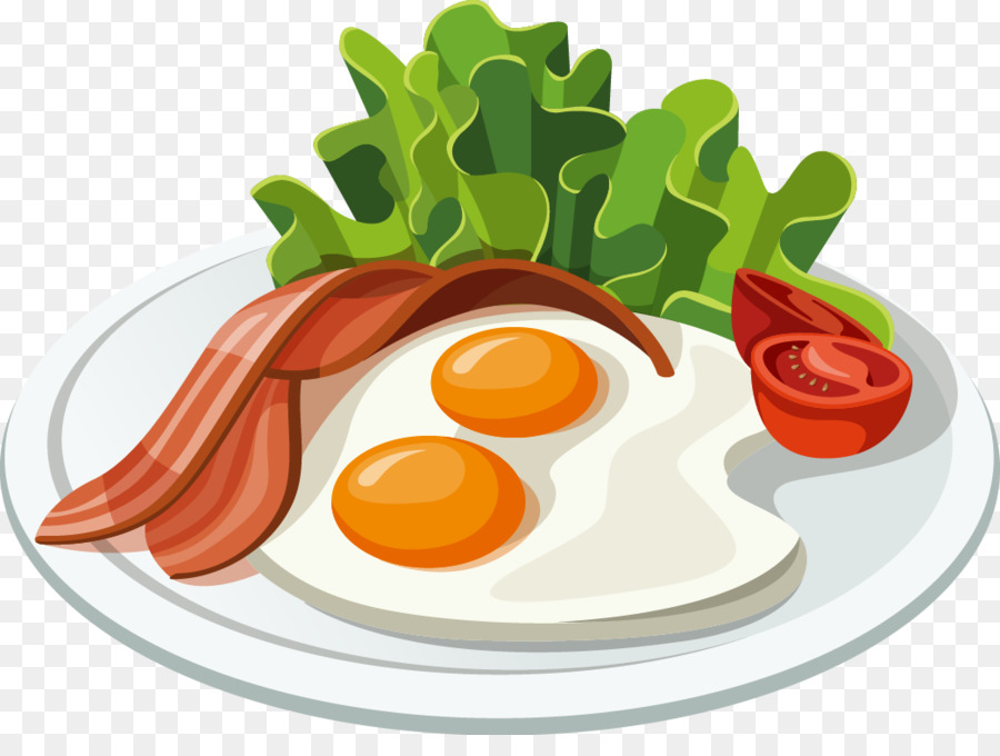 Fast food belgian waffle. Bacon clipart balanced breakfast