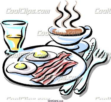 Bacon clipart breakfast. Of eggs with panda