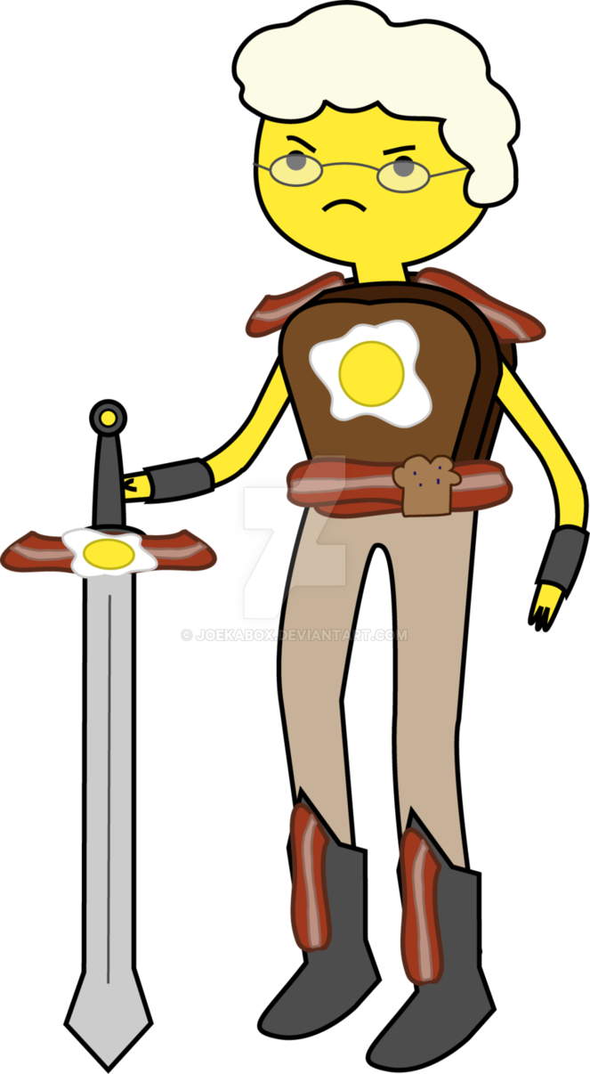 Jowl the knight adventure. Bacon clipart breakfast time
