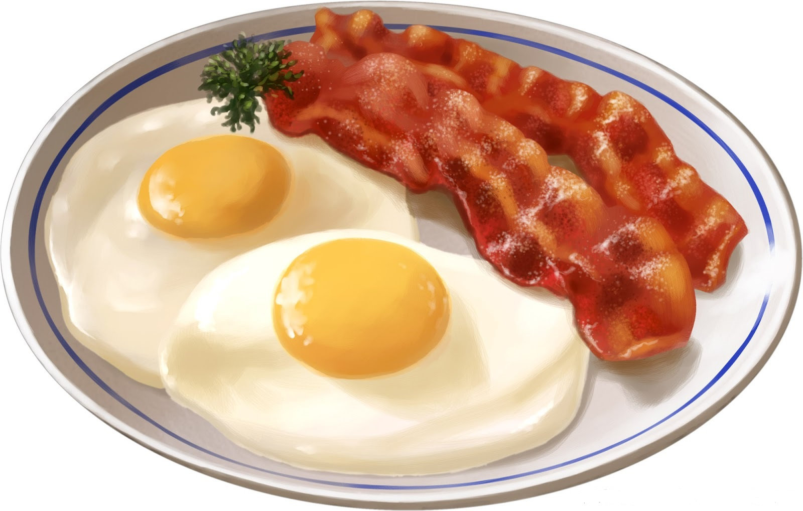 Bacon clipart breakfast time. And eggs why your