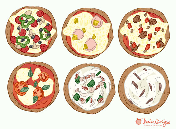 Bacon clipart canadian bacon. Design your own pizza