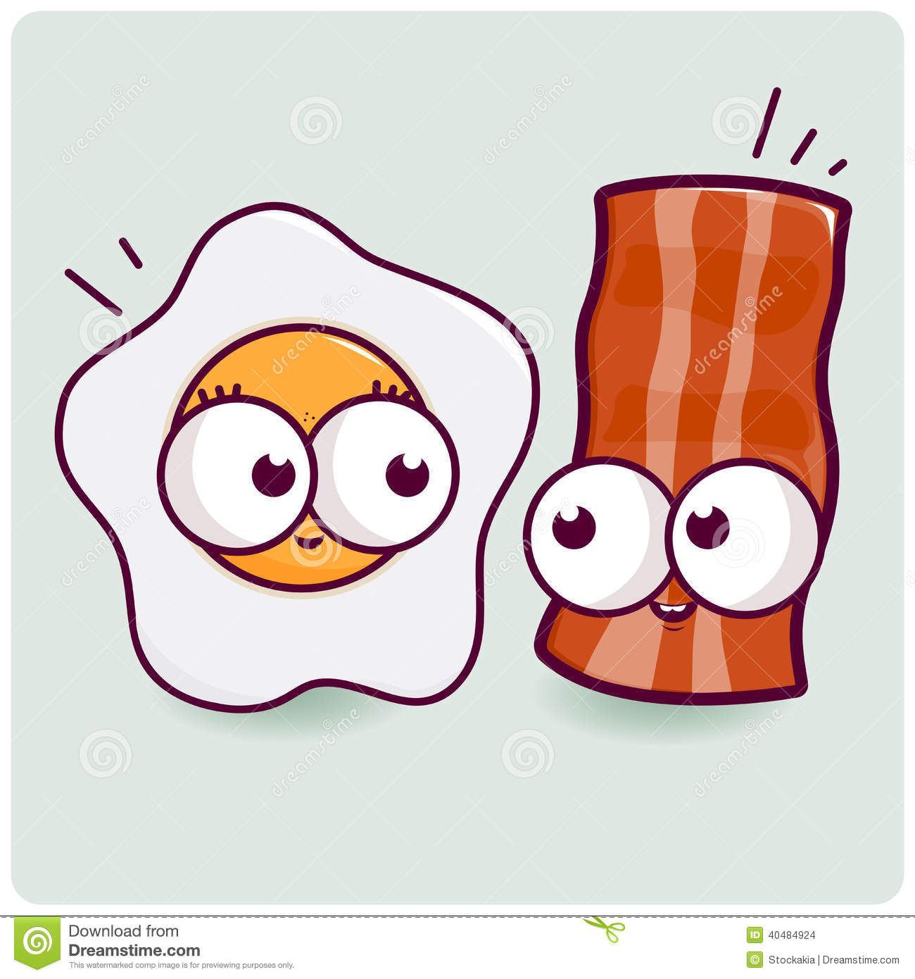 Of eggs free download. Bacon clipart carton