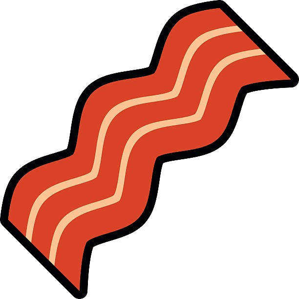 Bacon clipart clip art. Vector graphics openclipart montreal