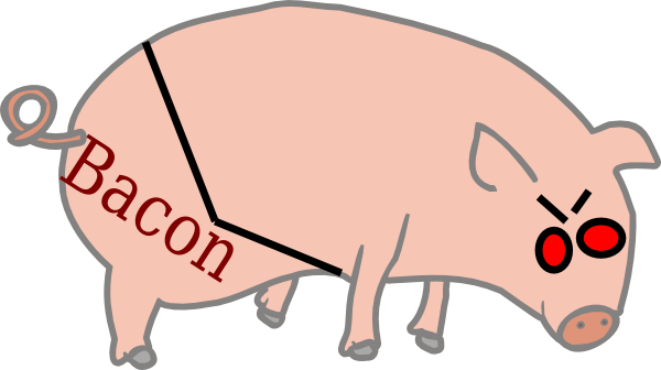 Bacon clipart clip art. Graph at clker com
