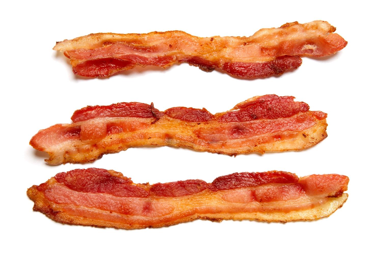 Unique design digital collection. Bacon clipart clip art