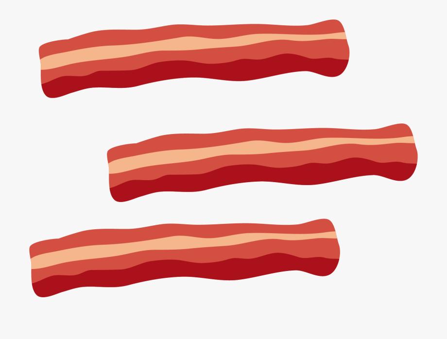 Tocino meat transparent background. Bacon clipart clip art
