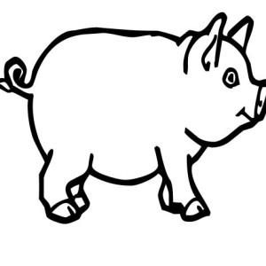 Drawing at getdrawings com. Bacon clipart coloring page