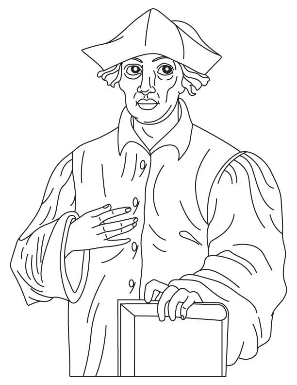Bacon clipart coloring page. Roger mystery of history