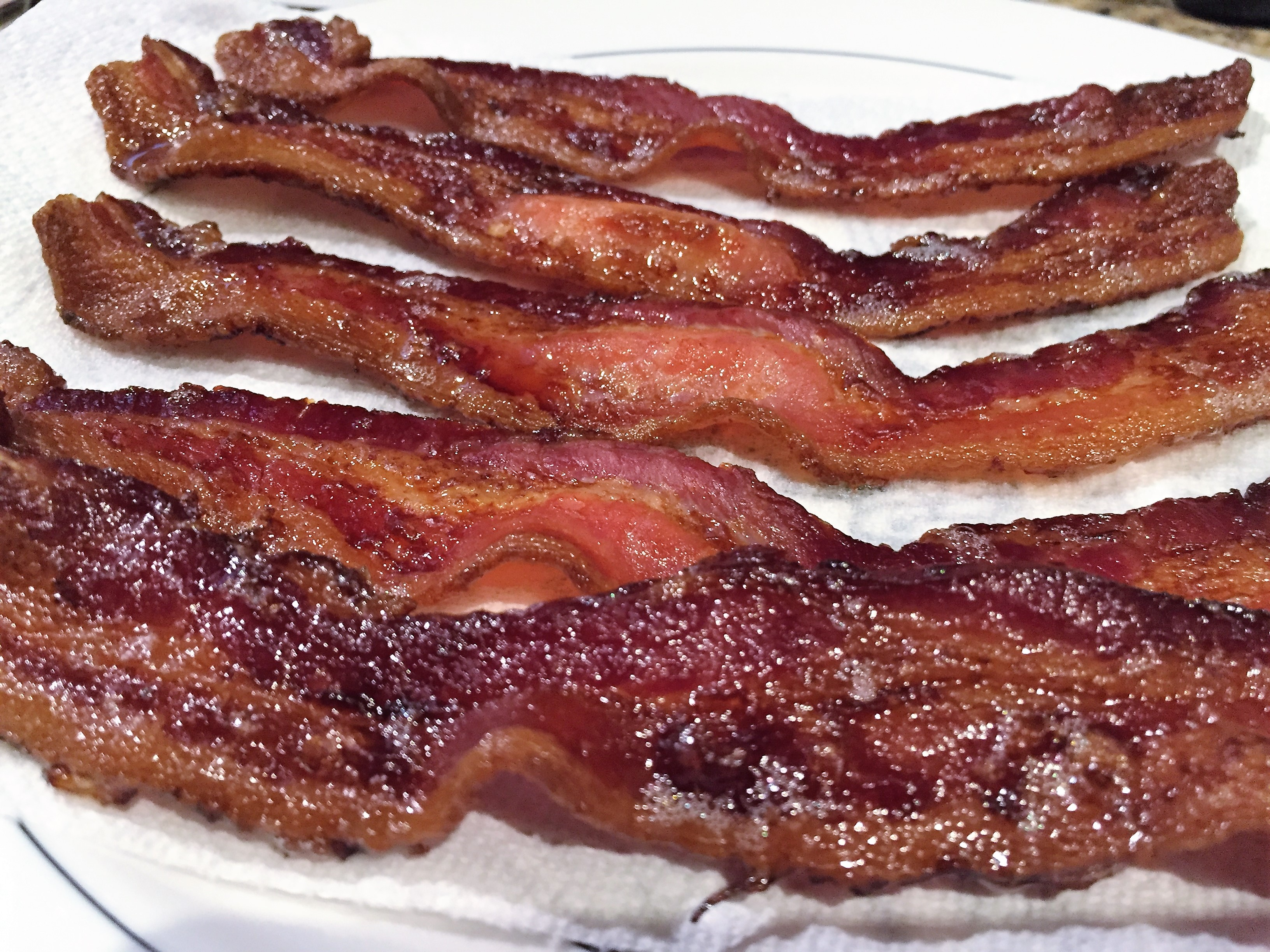 Perfect every time . Bacon clipart cooked bacon
