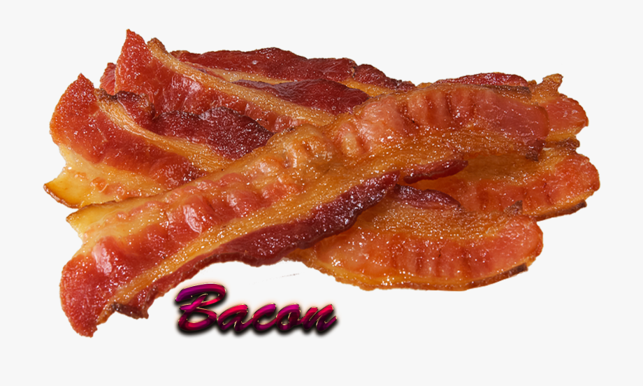 Download png transparent background. Bacon clipart cooked bacon