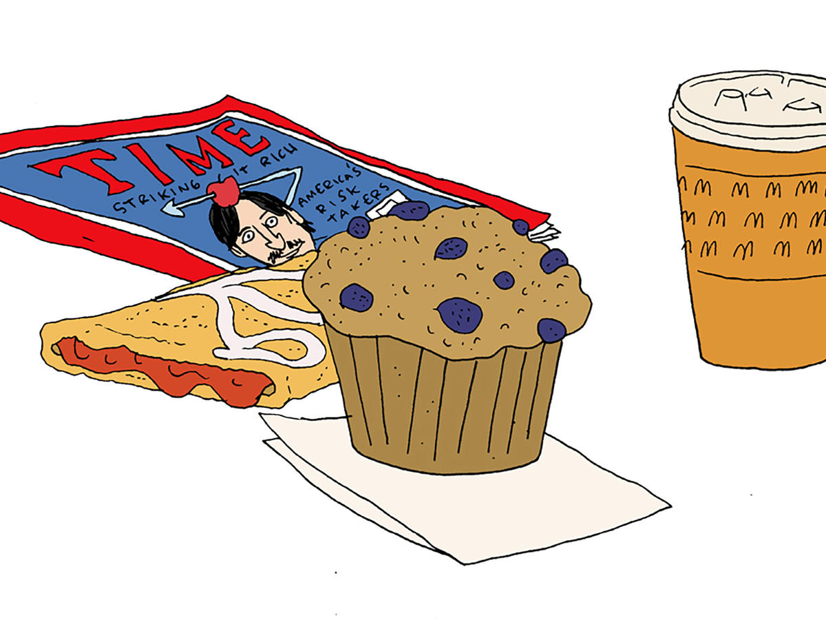 American breakfast through the. Bacon clipart egg roll