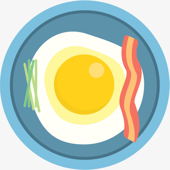 Meat png and vector. Bacon clipart egg roll