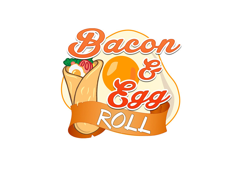 Entry by marsail for. Bacon clipart egg roll