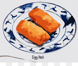Bacon clipart egg roll. Ice cream lumpia biscuit