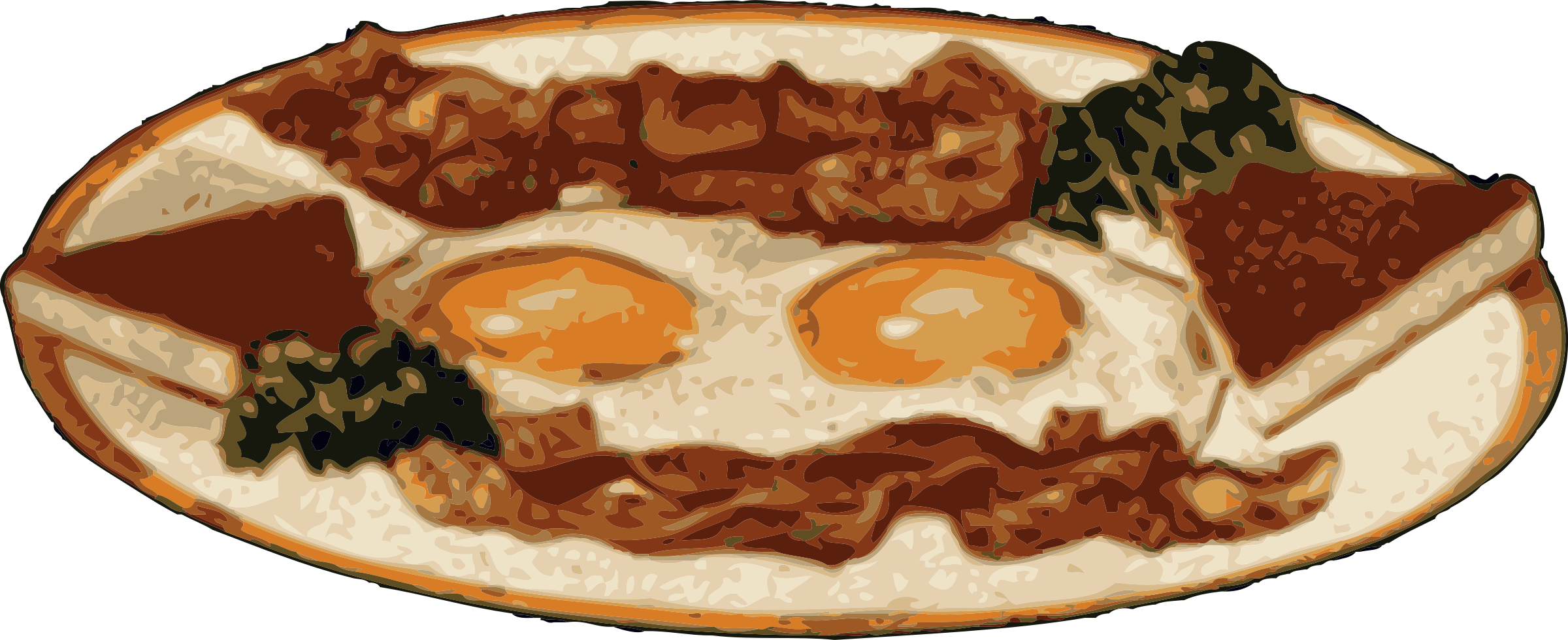 Food clipart bacon. And eggs icons png
