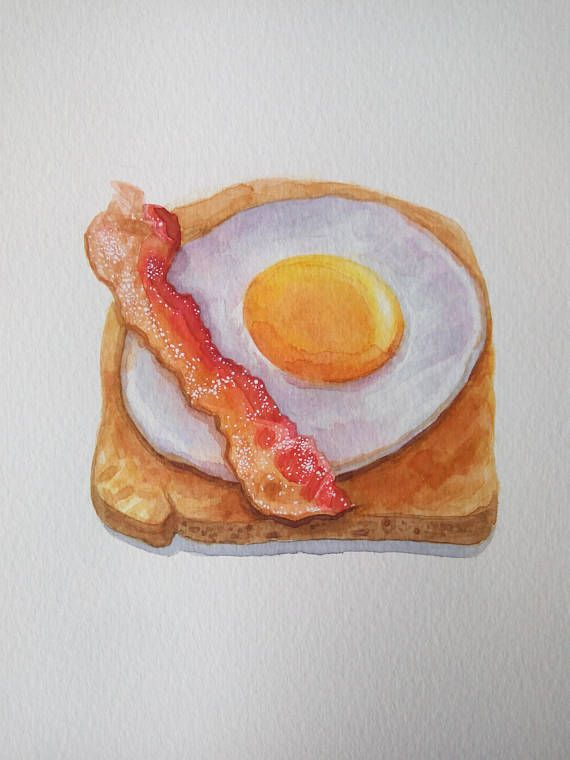 Bacon clipart egg toast. And on breakfast food