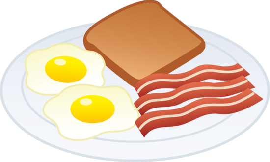 Eggs and free clip. Bacon clipart egg toast