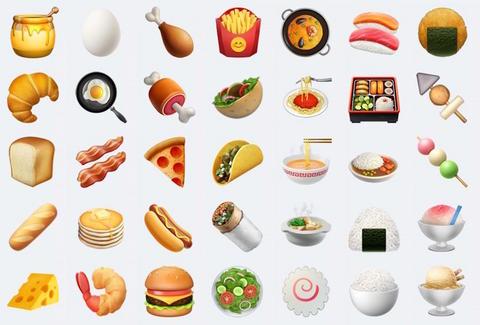 Bacon clipart emoji. Apple announces new for