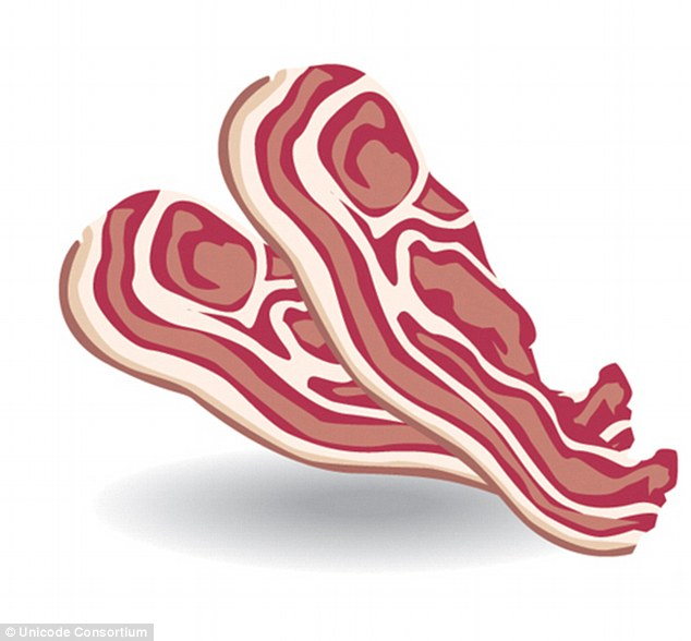 Bacon clipart emoji. Among new images joining