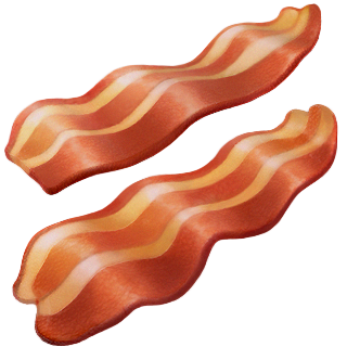 New apple emojis release. Bacon clipart emoji
