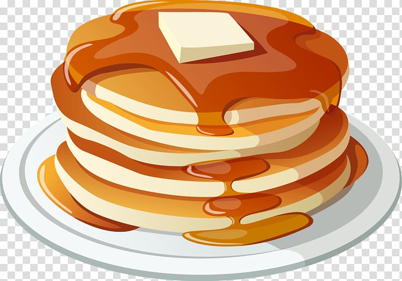 Pancake breakfast . Bacon clipart food
