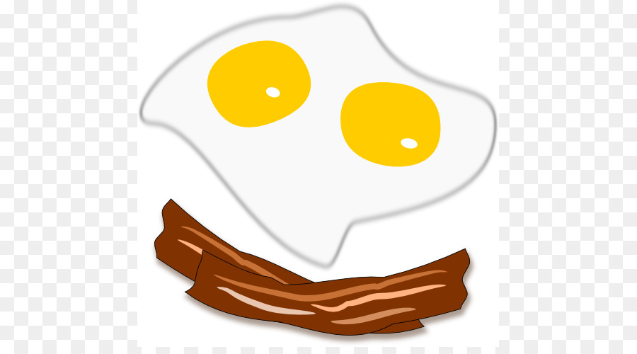 And cheese sandwich breakfast. Bacon clipart fried egg