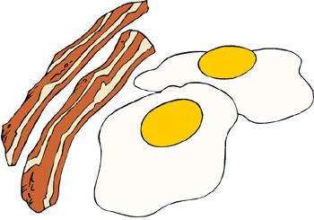 Bacon clipart fried egg. Want your hair to